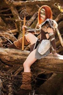 Aela the Huntress photo courtesy of Rachel Lewis Photography  (On Facebook)